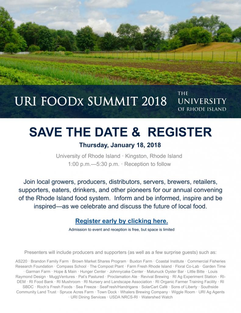 URI Foodx Summit - The Compass School